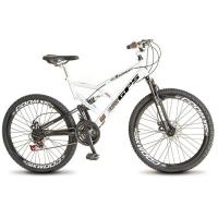 Bicicleta Colli Aro 26 21 Marchas GPS Branca