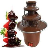 Mini Fondue Fountains Waterfall Chocolate Fondi 3 Layers