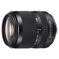 Lente Sony Zoom com distância focal 18mm a 135mm