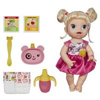 Boneca Hasbro Baby Alive Hora de Comer Loira