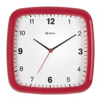Relógio de Parede Herweg 711 Vermelho Pantone 24x24x4cm