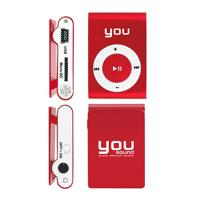 MP3 Player You Sound 8GB Vermelho