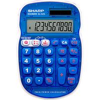Calculadora com Tabuada e Exercícios Matemáticos Sharp Azul