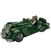 Miniatura Carro Incasa RQ0018 em Cerâmica Verde