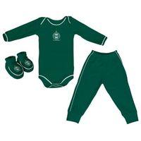 Conjunto Longo Verde + Pantufa Torcida Baby Coritiba Infantil