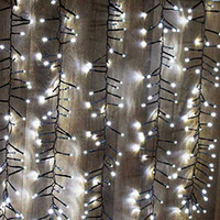 Cordão Luminoso Taschibra Festão 8F 480 Leds Branco 220V