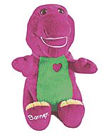 Boneco Barney Eu Te Amo Fisher Price Mattel