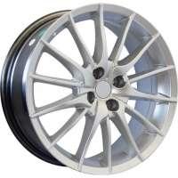 Jogo de Roda RAW Renault Mito Aro 17 4X98/ET41 Hiper Silver