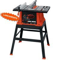 Serra Black & Decker Bancada de 10'' c/ Base BT1800