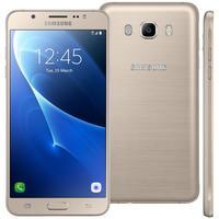 Smartphone Samsung Galaxy J7 Duos Metal SM-J710MN/DS Desbloqueado GSM 16GB 4G Dual chip Android 6.0 Dourado