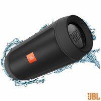 Caixa de Som Bluetooth JBL com Conexão P2 Preta Charge