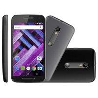 Smartphone Motorola Novo Moto G Turbo XT1556 3ª Geração Desbloqueado GSM 4G 16GB Dual Chip + 1 Capa Cinza