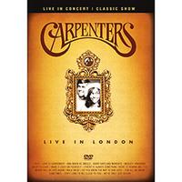 Carpenters:Live in London - Multi-Região / Reg. 4