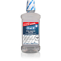 Anti Séptico Bucal Oral B Pro Saúde Noite Leve 500 ml Pague 300ml