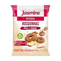 Rosquinha Jasmine Integral Banana e Maça 200g