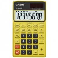 Calculadora Casio Solar 8 Digitos SL-300NC Amarela
