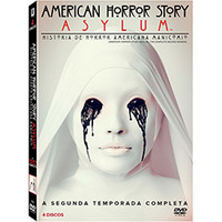 American Horror Story Asylum 2ª Temporada 4 DVDs - Multi-Região / Reg.4