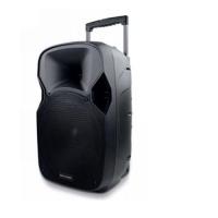 Caixa Amplificada Multilaser Trolley Sp200 Preta