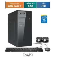 Computador Desktop Easypc 5662 Core I5 3.2GHz 8GB 1TB Windows 10