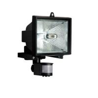 Refletor Com Sensor Brasfort 500W Preto
