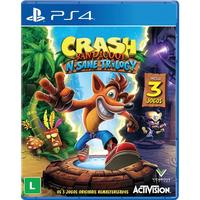 Crash Bandicoot N Sane Trilogy Playstation 4 Sony