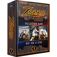 Box Zorro:Collection Bang Volume 1 3 DVDs  - Multi-Região / Reg. 4