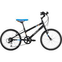 Bicicleta Caloi Hot Wheels Cideck Aro 20 Preto