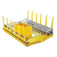Escorredor de Louças Tramontina com Bandeja Amarelo
