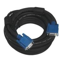 Cabo PCYES VGA para Monitor HD15M x HD15M 10 Metros Preto