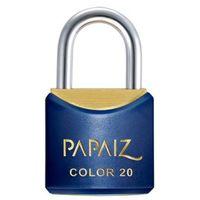 Cadeado Papaiz Colorline CR20 Azul
