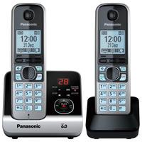 Telefone Panasonic KX-TG6722LBB Combo