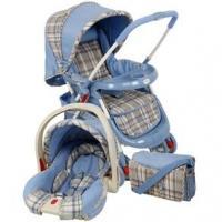 Carrinho de Bebê Cosco Cruiser TS Travel System + Bebê Conforto e Bolsa C326M Azul