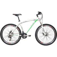 Bicicleta Tito Bikes MTB Aro 27,5 21 Velocidades Quadro 19 Branca e Verde