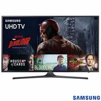 "Smart TV 4K Samsung LED 55"" UN55KU6000GXZD"