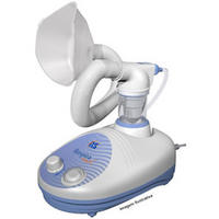 Inalador Ultrassônico NS Respiramax Branco e Azul