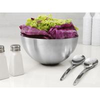 Saladeira Euro Home MSP4791 em Inox com 2 Pegadores