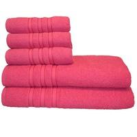 Jogo de Banho Santa Mônica Monic Pink 5 Peças