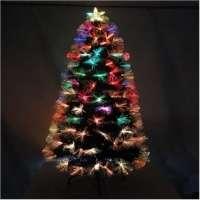Árvore de Natal Fibra Ótica Luxob com Efeitos 10.900 Pontos 1283 1.20m
