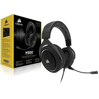Headset Gamer Corsair HS70 SE Wireless, Corsair, Microfones e fones de ouvido, Preto