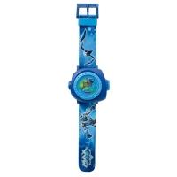 Relógio Digital Fun Max Steel Multi Projetor 7612-1 Azul