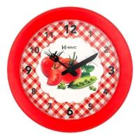 Relógio de Parede Herweg Pantone 711 Vermelho 21x21x3cm
