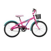 Bicicleta Caloi Barbie Aro 20 Fucsia