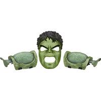 Conjunto Vingadores Hasbro Máscara e Acessórios Hulk