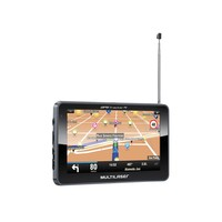 GPS Multilaser Tracker III 5´ Câmera de Ré e TV Digital GP037