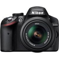 Câmera Digital Nikon SLR D3200 24.2MP + Lente 18-55M