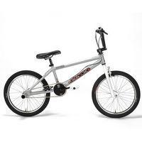 Bicicleta Pro X Série 8 BMX Aro 20 Prata