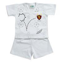 Pijama Curto Torcida Baby Sport Recife