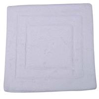 Tapete para Banheiro Vizapi Assam Branco 60x60cm