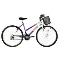 Bicicleta Track & Bikes Marbela 18 Marchas Aro 26 Lilás