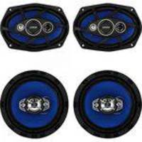Kit Alto Falante Quadriaxial 6x9 + 6 55W RMS 4 Ohms ORION